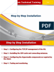 Step by Step Installation