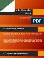 Teoría de La Identidad Social