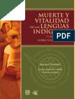 García, L. y Terborg, R. (Coords.). (2011). Muerte y Vitalidad de Las Lenguas Indígenas y Las Presiones Sobre Sus Hablantes.