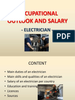 Electrician - Job duties, Salary, Job requirements