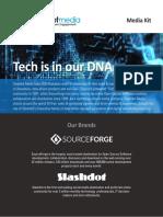 Slashdot Media Kit 2018