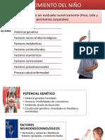 Diapositivas Crecimiento y Desarrollo
