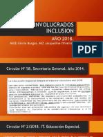 Presentación Gloria Burgos Jacqueline Oliveira