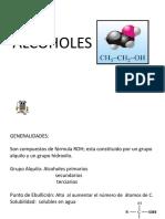 alcoholes cetonas aldehidos