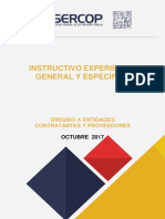 Instructuvio Experiencia General y Especificas