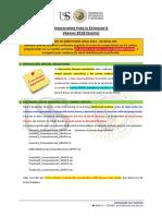 Indicaciones Estudiante 2018 Enero
