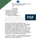 Libreto Homenaje a Gabriela Mistral2014 Colegio de Profesores - Copia