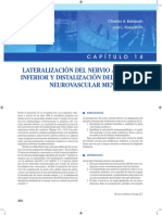 Lateralización nervio alveolar inferior