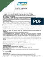 Combustíveis, Lubrificantes & Aditivos _ Icms Prático