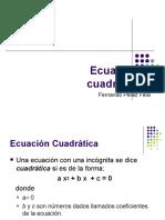 4 - ecuaciones cuadraticas.ppt