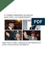 Tories Dressed as Nazis