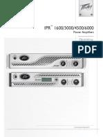 Peavey Power Amp Ipr 3000 Manual