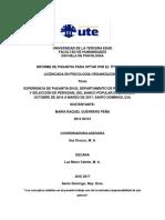 Informe de Pasantía UTE
