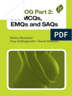 Mrcog Part 2-550 Mcqs,Emqs and Saqs