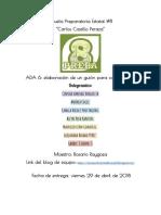 ADA6 Guion de Cortometraje