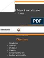 Schlenk and Vacuum Line Safety