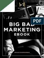Marque Media's Big Bad Marketing eBook