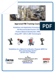 API-U - API RP 578-Approved PMI Training Course - ATC-Bali Indonesia-May 7-8-2018