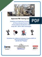 API-U - API RP 578-Approved PMI Training Course - ATC-Bali Indonesia-May 7-8-2018