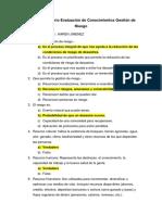 Cuestionario Evaluación de Conocimientos Gestión de Riesgo.docx