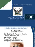 Accidentes de transito con transporte publico.pps