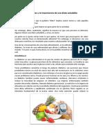 La Diabetes y La Importancia de Una Dieta Saludable