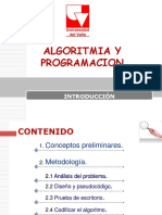 Clase1 - Metodología...Algoritmia y programación