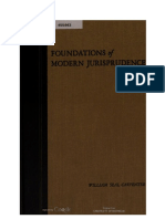 Foundations of Modern Jurisprudence