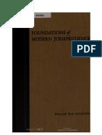 Foundations of Modern Jurisprudence