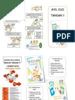 Leaflet Cuci Tangan Bersih