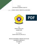 Kasus WALKER COMPANY PROFIT PLAN DECISION.docx