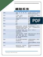 中学初中华文笔记