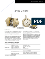 Nuflo Orifice Flange Unions