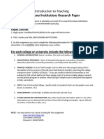 lauren gotchie - educational institution research paper
