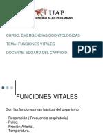 funciones vitales