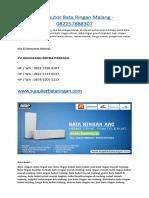 Distributor Bata Ringan Malang - 082257888307
