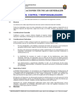 Especificaciones Tecnicas Sistema de Drenaje