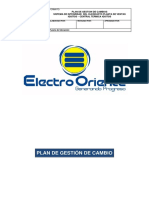 SID-ELORSA-009.Plan de Gestion de Cambio
