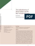 Hirschl the Judicialization of Mega Politics