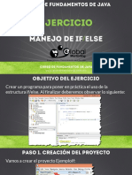 CFJ B Ejercicio 01 Manejo de if Else
