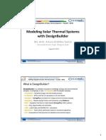 ModelingSolarThermalSystems withDesignBuilder