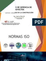 Semana 3 Conceptos de Gerencia de Proyectos - Introducción Normas ISO