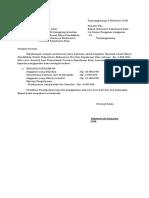Format SPJ Beasiswa