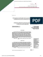 Determinación de Indicadores Para La Calidad de Agua, Sedimentos y .