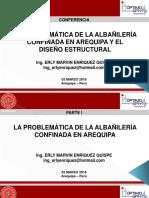 Albañilería Confinada en Arequipa y El Diseño Estructural