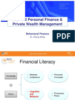 6 Behavioural Finance