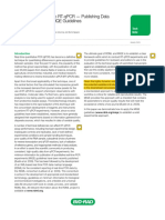 A Practical Approach to RT-qPCR — Publishing Data