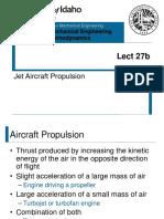 Jet Aircraft Propulsion