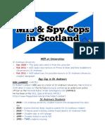 MI5 & Spy Cops in Scotland