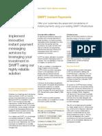 Swift Instant Payments Factsheet